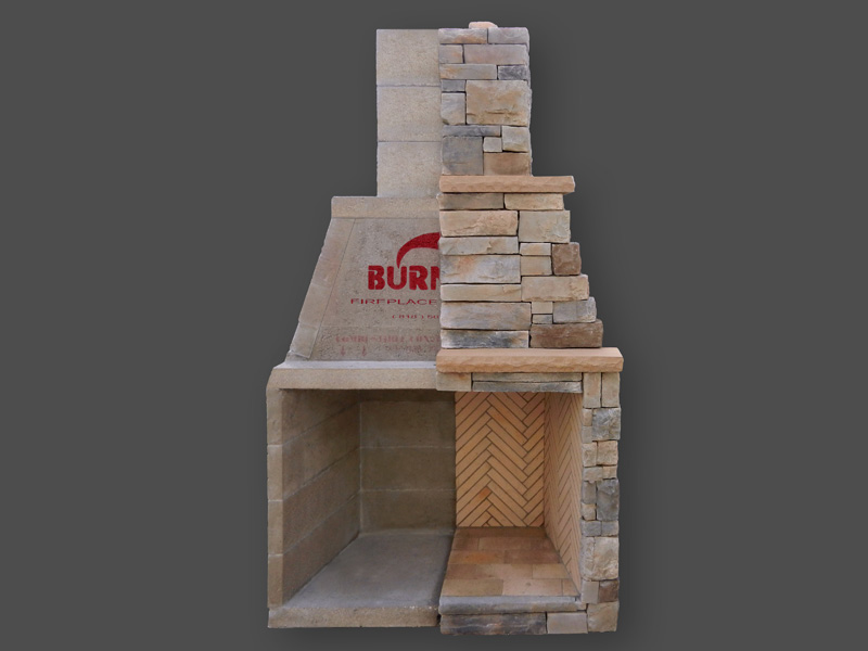 Fireplace Systems Outdoor Masonry Brick Fireplaces Modular Fireplace Burntech